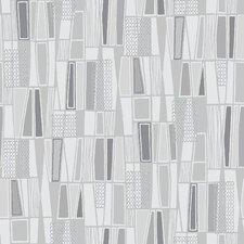 "Wall Vision 33' x 20.9"" Taavi Retro Geometric Wallpaper"