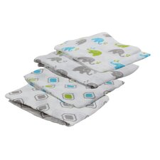 Yasmeen Muslin Blanket (Set of 4)