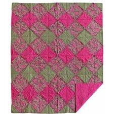 Sorbet Rag Cotton Throw Blanket