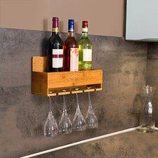 Weinflaschenhalter für 4 Fl.