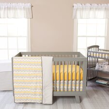 Seashore 3 Piece Crib Bedding Set