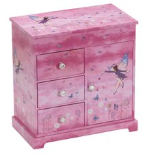 Freya Pretty Fairy Chest Style Musical Jewellery Box