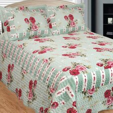 Russelliana Rest 3 Piece Reversible Quilt Set