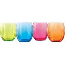 Samba 14 Oz. Double Old Fashioned Glass (Set of 4)