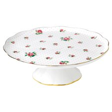 Pink Roses Cake Stand