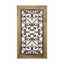 Wood Metal Wall Decor