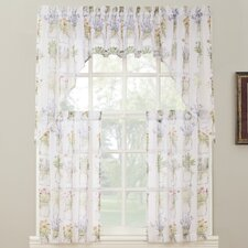 Eve's Garden Floral Print Kitchen Curtain Valance