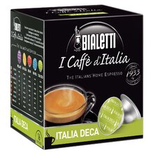 l Caffe D'italia Italia Deca Coffee Pods (Pack of 16)