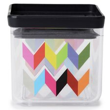 Ziggy Small Dry Storage Container 0.075 qt. Kitchen Canister (Set of 2)