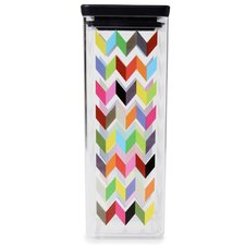 Ziggy Large Dry Storage Container 2.66 qt. Kitchen Canister Jar (Set of 2)