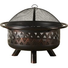 Steel Wood Burning Fire Pit