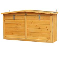 4ft W x 1ft D Wooden Tool Shed
