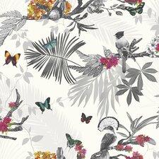 "Mystical Forest 33.5' x 22"" Wildlife Wallpaper"