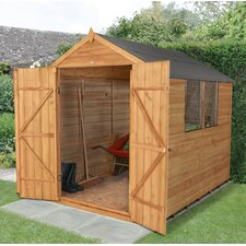 6 x 8 Wooden Storage Shed