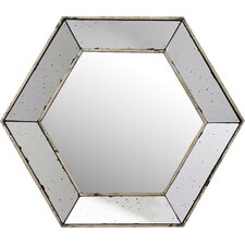 Gia Hexagon Wall Mirror