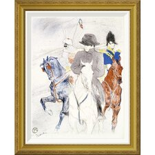 'Napoleon' by Henri Toulouse-Lautrec Framed Wall Art