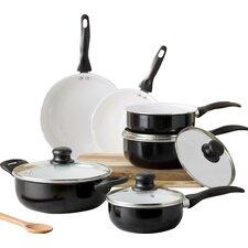 Wayfair Basics 10 Piece Non-Stick Ceramic Cookware Set