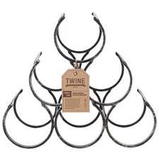Country Home 6 Bottle Tabletop Wine Rack
