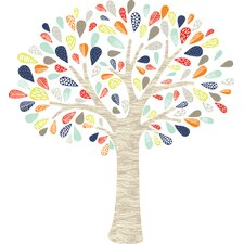 Whimsical Tree Wall Decal