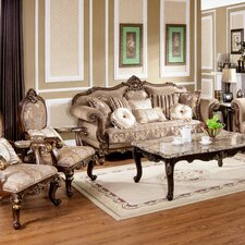Traditional Sofa and Chair Set  by BestMasterFurniture