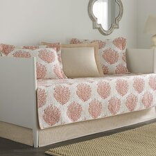 Coral Coast 5 Piece Twin Daybed Quilt Set by Laura Ashley Home
