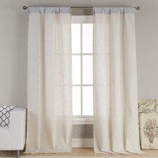 Kinlee Solid Sheer Rod pocket Curtain Panels (Set of 2)