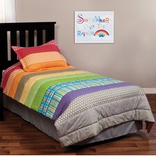 Rainbow Connection 2 Piece Twin Coverlet Set