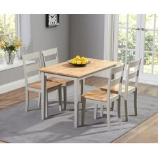 Beecher Falls Dining Set with 4 Chairs