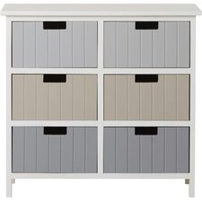 Carver 6 Drawer Chest of Drawers