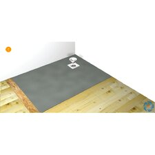 Wetroom Tray With Offset Drain