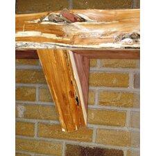Fireplace Mantel Natural Corbel in Cedar (Set of 2)