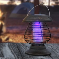 Solar Power LED Lantern and Mosquito Zapper