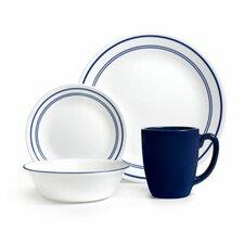 Livingware Classic Cafe 16 Piece Dinnerware Set, Service for 4