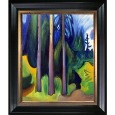 Forest 1903 by Edvard Munch Framed Oil Reproduction