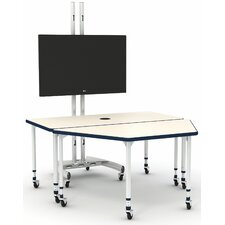 A&D 60'' x 60'' Rectangular Activity Table
