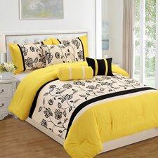 Lacina Embroidered Comforter Set