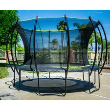 Stratos 15' Trampoline with Safety Enclosure