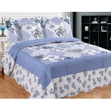 Homers Slumber 3 Piece Reversible Quilt Set