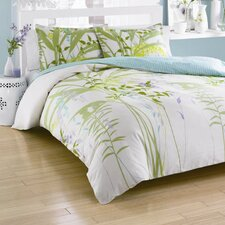Mixed Floral Mini Reversible Duvet Cover Set