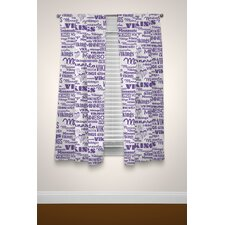NFL Vikings Anthem Curtain Panels