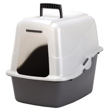 """18.9"""" x 15.1"""" x 17"""" Large Hooded Litter Pan"""