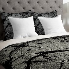 CityFabric Inc Lightweight Paris Duvet Cover