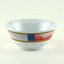 Decorated 20 oz. Melamine Life Preserver Non-skid Soup/Cereal Bowl (Set of 4)