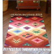 Masks' Area Rug