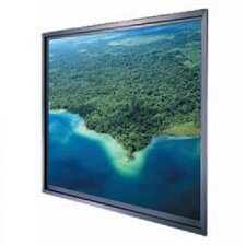 Thru-the-Wall Rear Fixed Frame Projection Screen