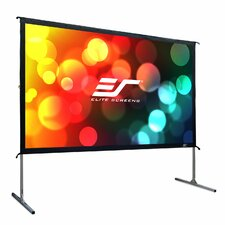 YardMaster2 Grey Portable Projection Screen