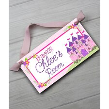 Princess Personalized Bedroom Door Sign