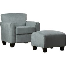 Great Northern Armchair and Ottoman