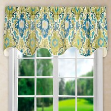 """Mead Lined 70"""" Scallop Curtain Valance"""