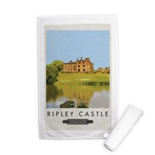 Ripley Castle Tea Towel